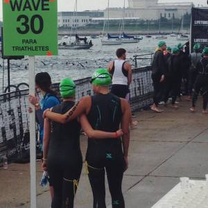 Chicago Tri 2015 Swim Start