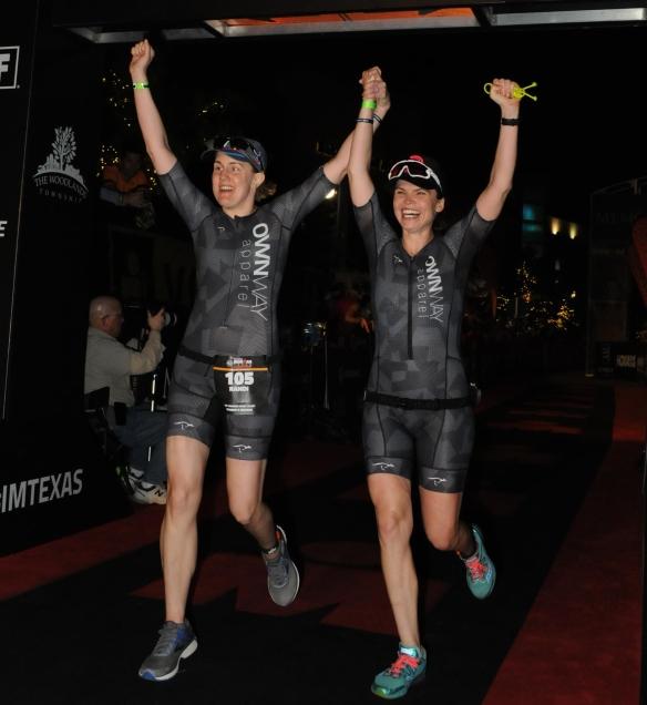 Finish! Ironman Texas 2018